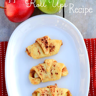 Apple Roll Ups.