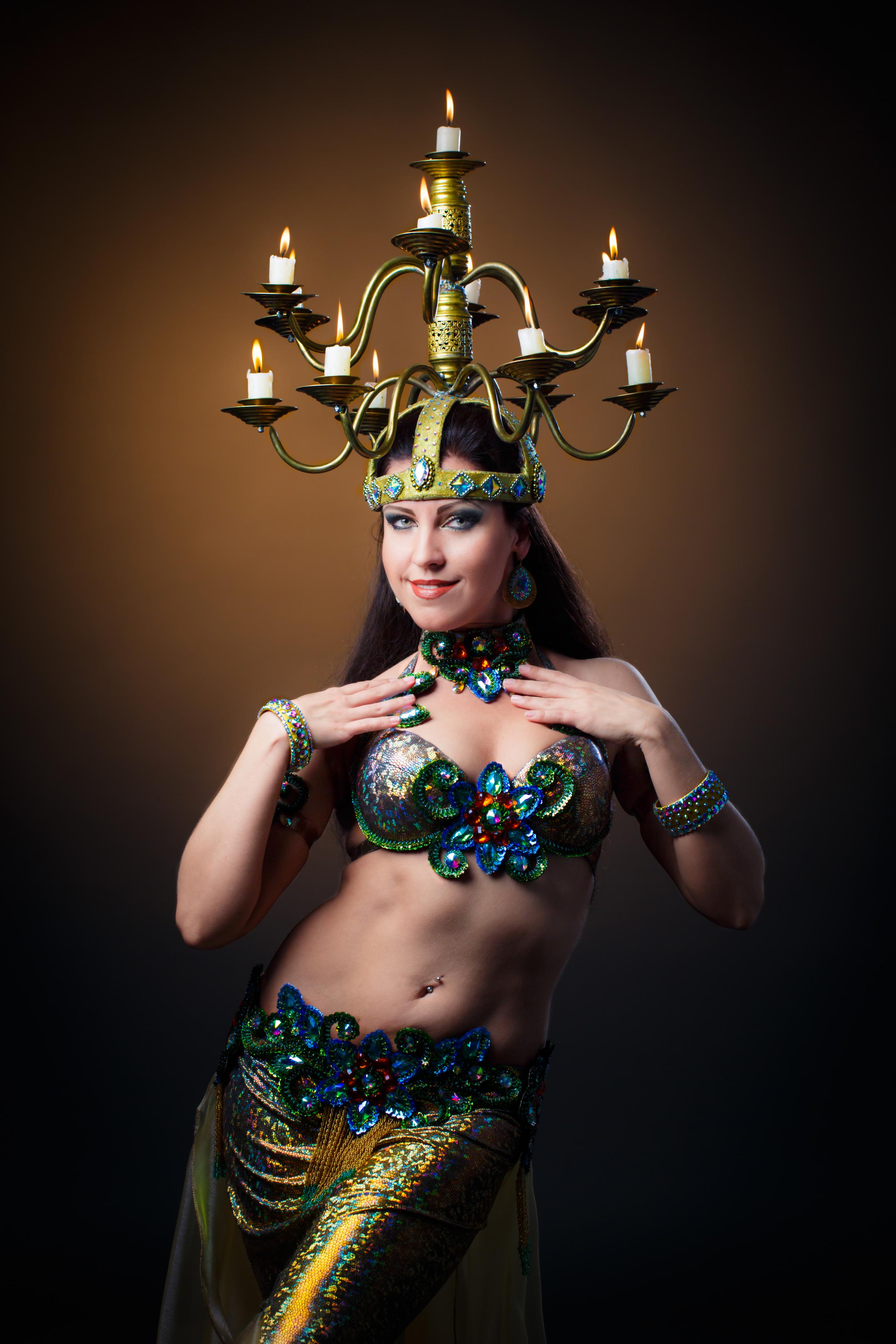 Джун-танцовщица восточных танцев в Самаре