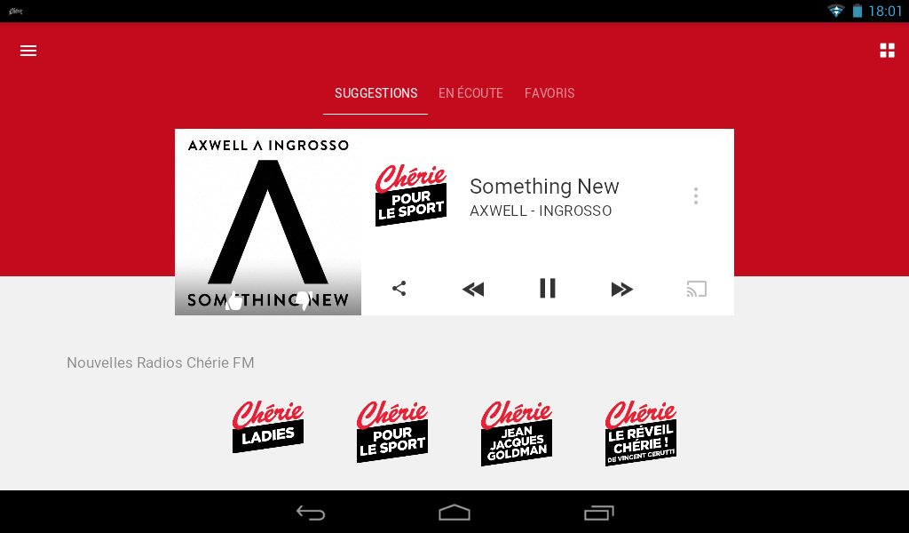 Chérie FM Radios- screenshot