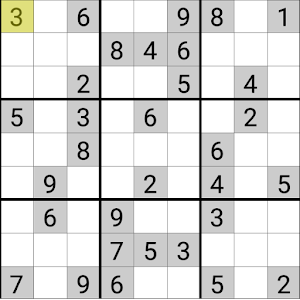 Sudoku – popular SUDOKU game for PC and MAC