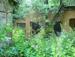 Photo: Ruins at a hilltop facility near Szarvaskő, in the deep forest, Hungary (Attention, dangerous terrain) - Romok