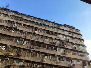 Photo: LIving in this building
