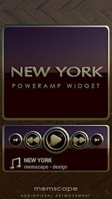 NEW YORK Poweramp Widget App-Download APK (com maxmpz