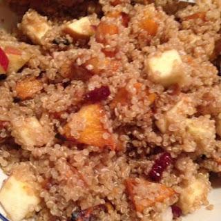 Butternut and Apple Quinoa