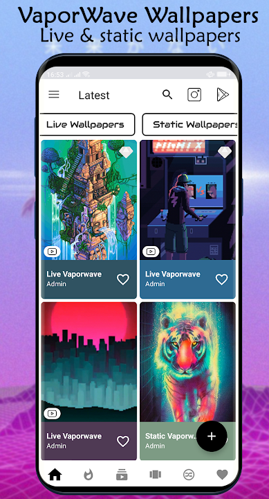 Download Live Vaporwave Wallpapers Aesthetic 80s Pixel Free For