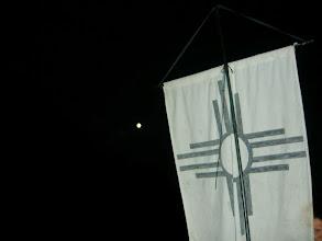 Photo: Kuu ja VVV lipp (paremal)