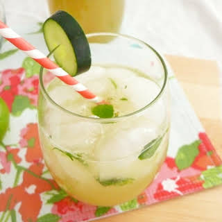 Cucumber and Mint Cocktail.