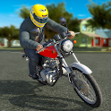 Real Bike 3D Parking Adventure: Bike Driving Games icon