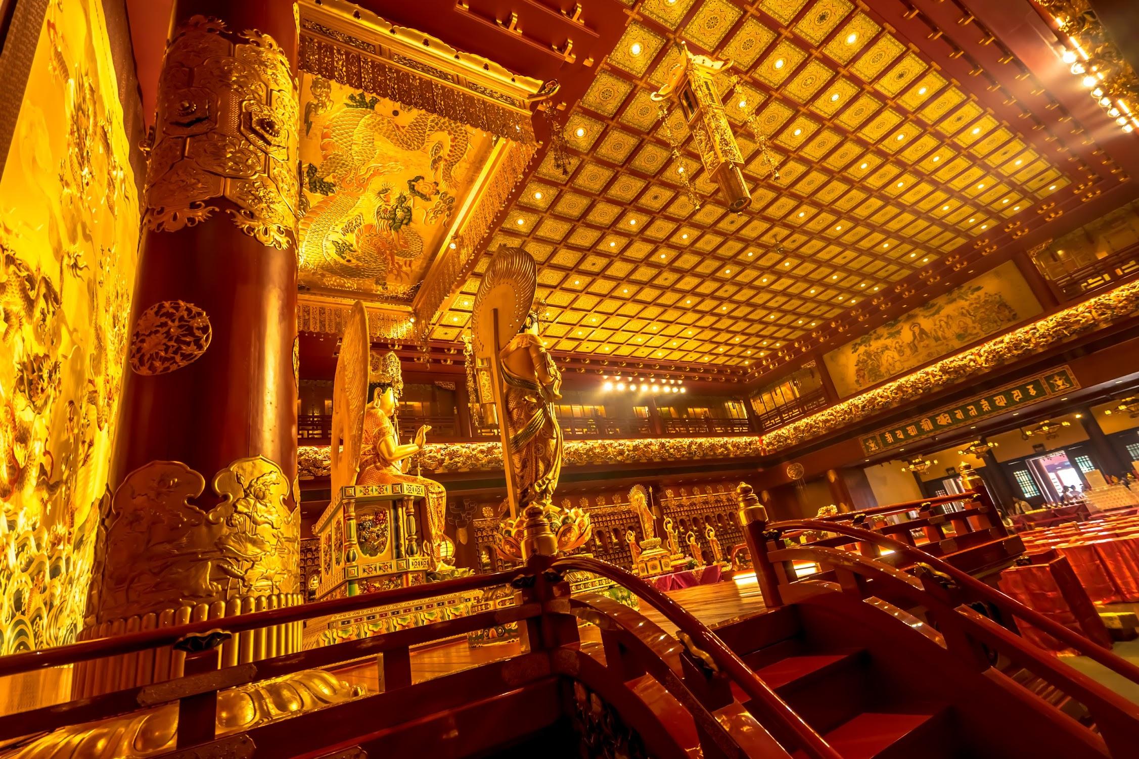 新加坡佛牙寺龍牙院(ブッダ・トゥース・レリック寺院)3