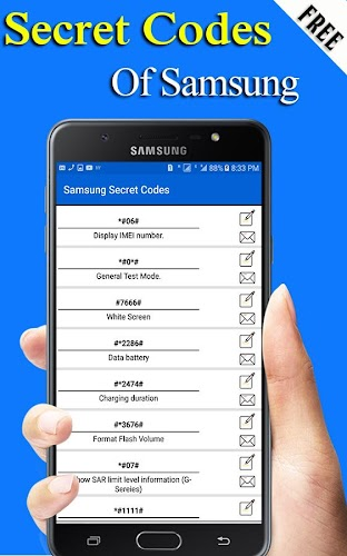 Download Secret Codes of Samsung : Updated APK latest version app by
