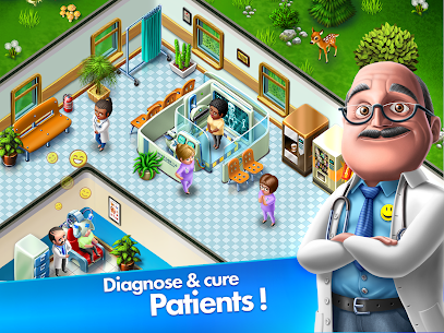 My Hospital: Build. Farm. Heal Mod Apk Download For Android and Iphone 7