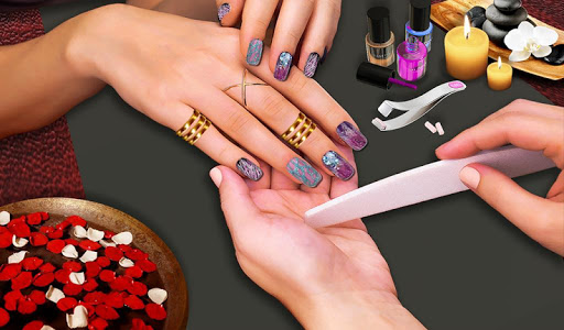 3d Nail Art Manicure Nail Salon Games For Girls Game Apk Free