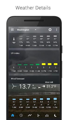 Sense Flip Clock & Weather 5.77.0.2 screenshots 4