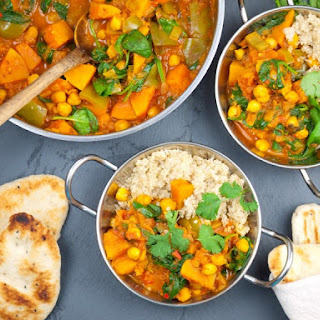 Butternut Squash & Chickpea Curry.