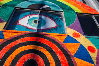 Photo: The watcher - Oklahoma City mural