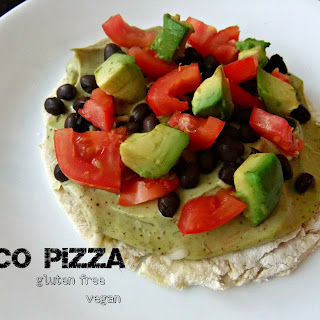 Taco Pizza – #glutenfree #vegan.