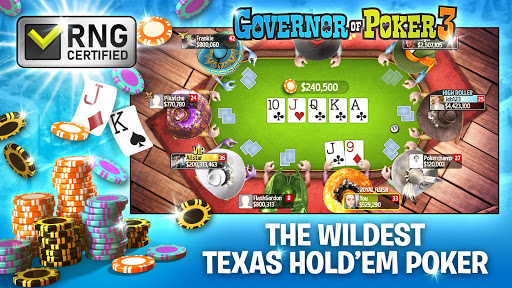 Governor of Poker 3 - Texas Holdem Casino Online 5.2.3 screenshots 2