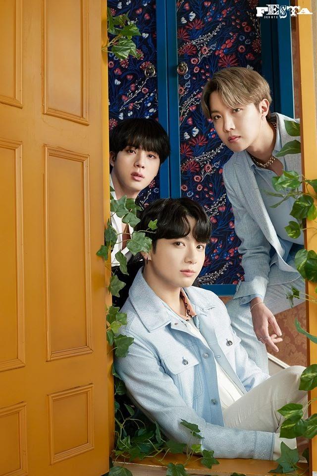 J-Hope Jin And Jungkook