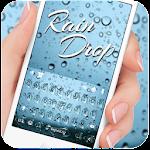 Blue Raindrops Keyboard Theme Icon