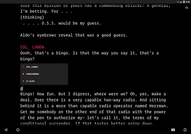 JotterPad - Writer, Screenplay, Novel Screenshot 15