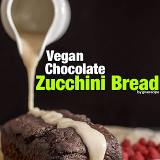 Vegan Chocolate Zucchini Bread.
