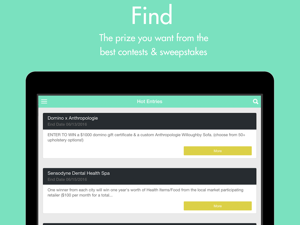 WinThings: Free Stuff & Prizes- screenshot