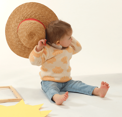 Profiter des beaux jours - Enfant - Chapeau @illustrealbert