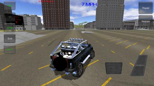 Russian SUV:Offroad Jeep 4X4