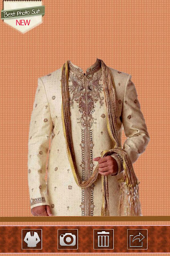Sherwani Photo Suit