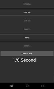 ND Filter Calculator- screenshot thumbnail