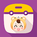 Baby Widget : Baby months, Pregnancy week tracking icon