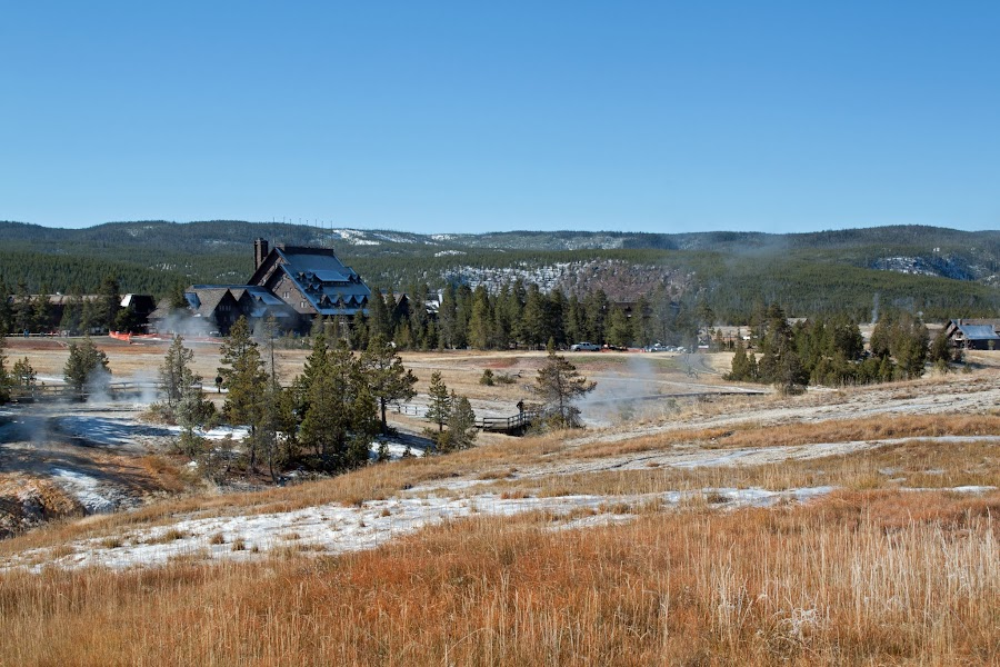 2 сезона за 3 дня в Yellowstone. Октябрь 2017