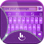 TouchPal Emoji Purple Theme