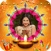 Diwali Photo Frame : HD Diwali Photo Maker 2019