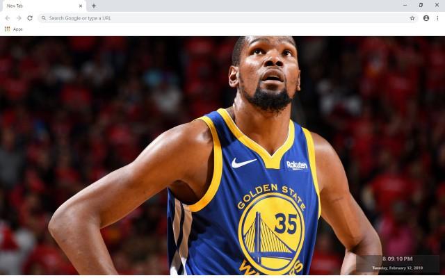 Kevin Durant  NBA New Tab