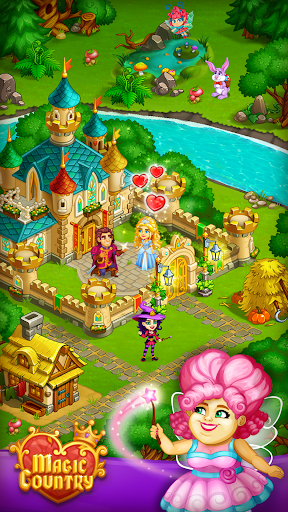 Magic City: fairy farm and fairytale country for Android apk 1