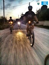 Photo: Es fa fosc direcció Parc de l'Agulla