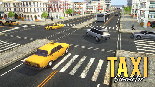 Taxi Simulator 2018  screenshots 15