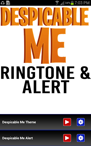 Despicable Me Ringtone Alert