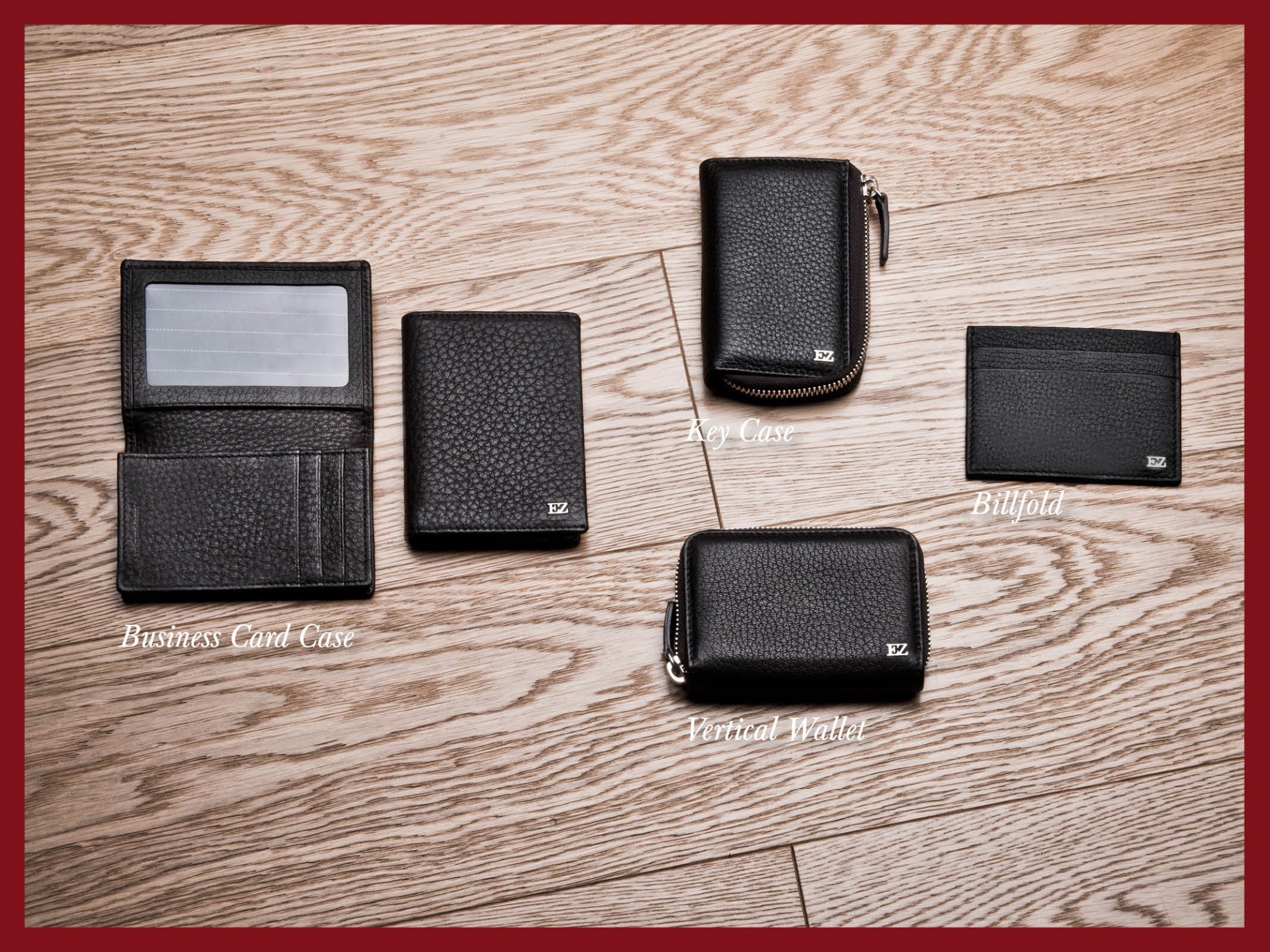 Photo: Ermenegildo Zegna - Holiday Season Selection - Small leather goods in dark brown deer skin. Billfold, vertical wallet or key case? Choose your style at http://bit.ly/X47GwN