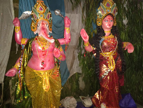 Photo: Maa Satugarhi Gramin Vikas Samiti Durga Puja-2013