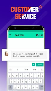 DOG VPN- VPN Free Hotspot Proxy & Wi-Fi Security App Download For Android 5