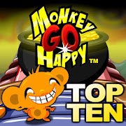 Monkey GO Happy - Top 10 Free Puzzle Adventures