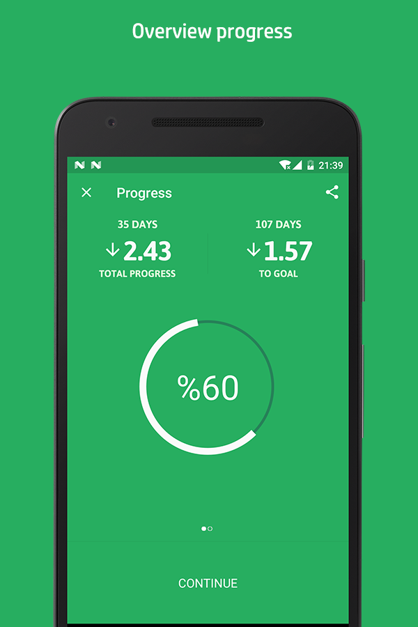Weight Track Assistant- screenshot