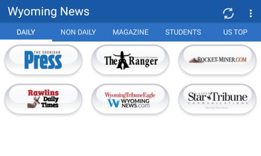 Wyoming Newspapers all News 1.1 screenshots 4