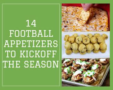 14 Football Appetizers to Kickoff the Season