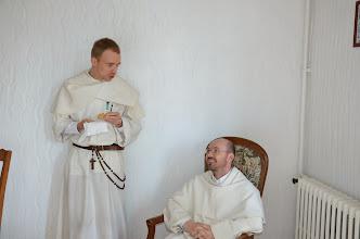 Photo: Ffr. Damien a Sylvain.