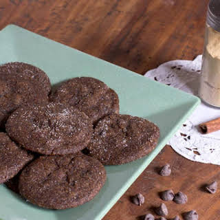 Chewy Chocolate Gingersnap Cookies.
