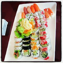 Photo: #Sushi with my family :)
