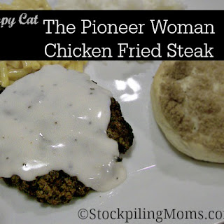 The Pioneer Woman Chicken Fried Steak